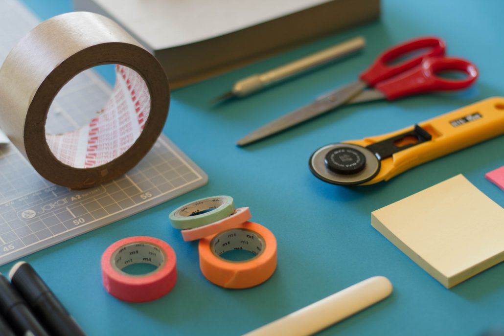 a selection of different supplies you need for relocation