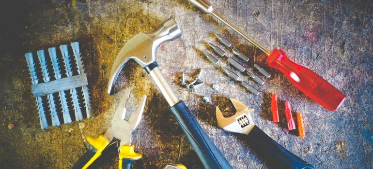 Tools to disassemble antique furniture