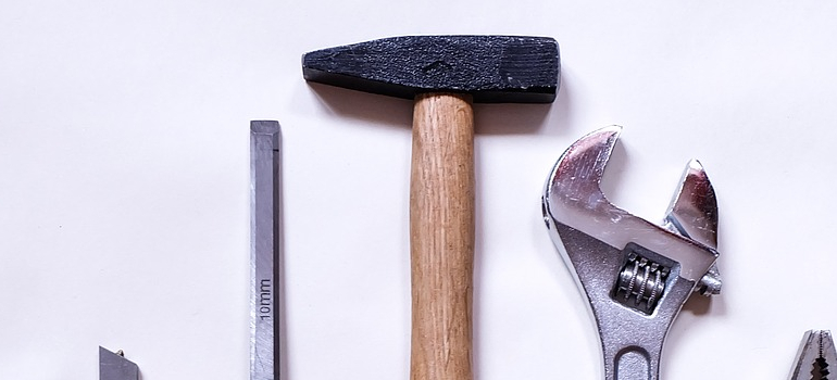 a hammer you will use in DIY home repairs