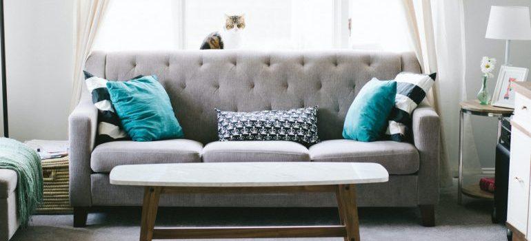 furniture prepared for relocation