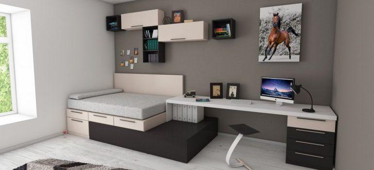 Standard bedroom.