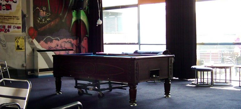 a big pool table to make you consider hiring professional pool table movers