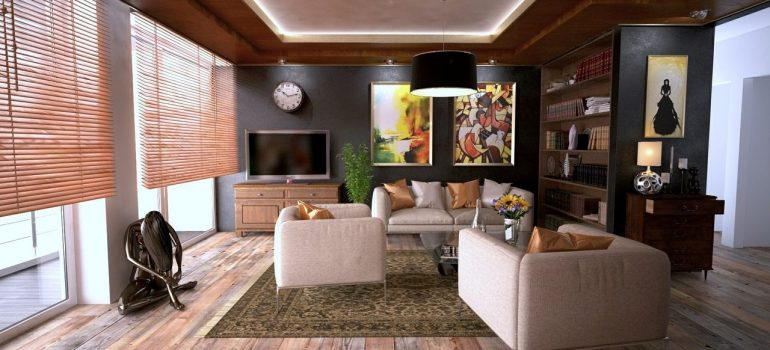 a home interior in one of places in Illinois to buy a vacation rental in