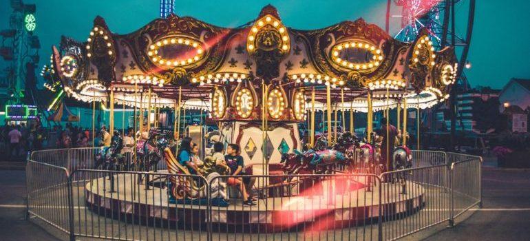 A carnival in Skokie