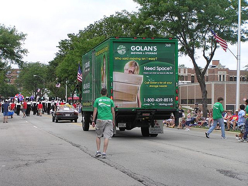 Golan's Moving & Storage in the Skokie Parade